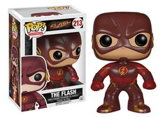 From the television series The Flash, this Funko Pop! Vinyl figure stylizes our superhero, the alter ego of Barry Allen, as portrayed by Grant Gustin. Barry works as a a crime scene investigator who gains incredible super speed after a particle accelerator accident and uses his powers to fight criminals, including many who have gained similar powers in the same accident. #nesteduniverse
