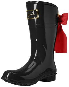 Joules Women's Evedon Short Rain Boot *** Amazing shoe product just a click away  : Boots