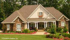 Front Exterior The Edgewater House Plan #1009