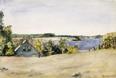 George Bellows - Gardiner's Bay from Sag Harbor