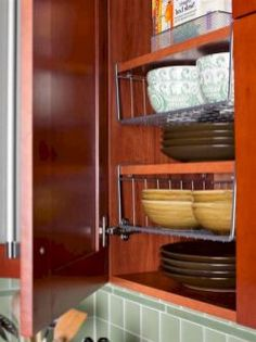 The Best Cheap and Easy RV Camper Organization and Storage for Travel Trailers No 63