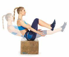 Plyo Box Burn: Rockin' Abs exercise