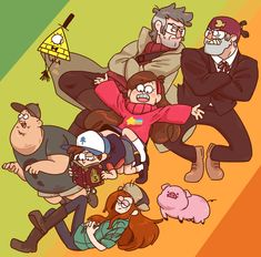 Gravity Falls by surumerume