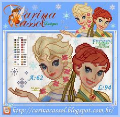 Sofia the first cross stitch | frozen anime disney princess 39 s elsa and anna ice pretty Car Tuning