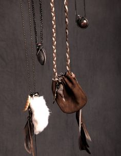 Protection Pouch, put your crystals in this to wear around your neck or put them in your pocket, as i do...