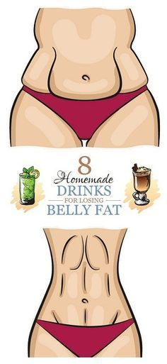 8 Homemade Drinks for Losing Belly fat