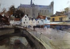 Eugen Chisnicean Artwork Cathedral of Amiens