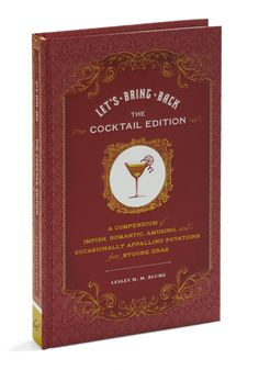 Let's Bring Back Cocktail Edition by Chronicle Books - Multi, Vintage Inspired, Party, 20s