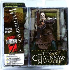 McFarlane Toys Movie Maniacs Series 7 Action Figure Leatherface [Texas Chainsaw…