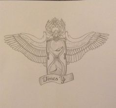 Tattoo Design I made based on running out of time