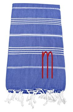 Cathy's Concepts Personalized Turkish Cotton Towel | Nordstrom