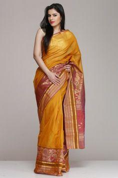 Saree light weight handloom silks sarees kanchi silk pinterest