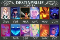In 2013 DestinyBlue drew... by DestinyBlue.deviantart.com on @DeviantArt