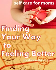 Getting out of a bad rut. How you can use emotional clues to figure out what self care will make you feel better faster.