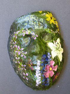 The Calvert Canvas: Adventures in Middle School Art!: Plaster Portrait Masks