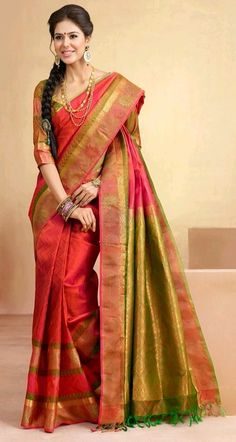 #silk saree..