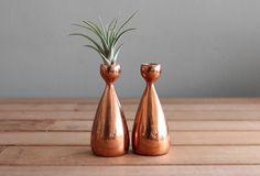 Jenfredware Copper Candle Holder