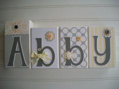 Letter Blocks for Children by RessieLillian.Etsy.com