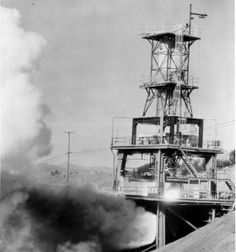 1960 Rocketdyne testing an engine... It sounded as if the whole world was ready for launch... The Santa Susana mountains would rumble...
