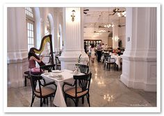 tea room at the raffles hotel singapore