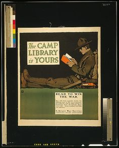 The camp library is yours - Read to win the war.