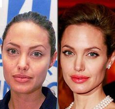 celebs without makeup before and after | ... girl in one of the pictures after the jump, then you are very unlucky