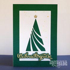 Karten-Kunst » Weihnachtsgruß-Baum