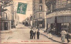 Vue de la rue du Château-des-Rentiers, vers 1910 (Paris 13ème)