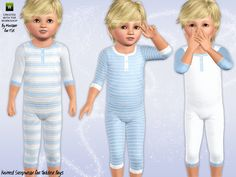 Knitted Sleepsuit by minicart - Sims 3 Downloads CC Caboodle