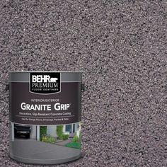 Atlantic Topaz Decorative Flat Interior/Exterior Concrete Floor - The Home Depot BEHR Premium 1 gal. Atlantic Topaz Decorative Flat Interior/Exterior Concrete Floor - The Home Depot