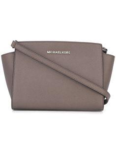 MICHAEL MICHAEL KORS Medium Selma Crossbody Bag. #michaelmichaelkors #bags #shoulder bags #leather #crossbody #
