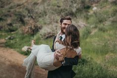 This elopement inspiration in Bronson Canyon by Kelley Deal Photography shows us how simplicity can be magical when it comes to planning your wedding day.