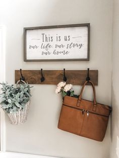 Are you looking for inspiration for rustic farmhouse? Browse around this site for cool rustic farmhouse images. This amazing rustic farmhouse ideas will look absolutely superb. Rustic Entryway, Entryway Decor, Entryway Coat Hooks, Bedroom Decor, Farmhouse Wall Decor, Country Decor, Modern Farmhouse, Farmhouse Ideas, Rustic House Decor