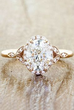 18 Vintage Engagement Rings With Stunning Details ❤ See more: www.weddingforwar…