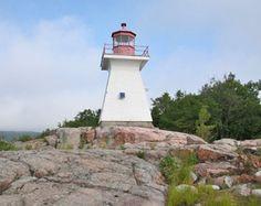 Killarney Northwest Lighthouse, Ontario Canada at Lighthousefriends.com