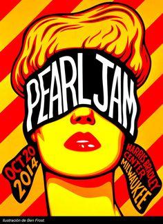 41 ideas for music poster art pearl jam Music Drawings, Music Artwork, Art Pop, Heavy Metal, Rock Vintage, Musik Illustration, Pearl Jam Posters, Rock Band Posters, Kunst Poster