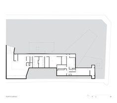 Residência C.J.,Planta - Subsolo