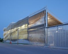 Original design by Crawford Architects on the Zahner Headquarters in North America / Mike Sinclair. Image © Zahner
