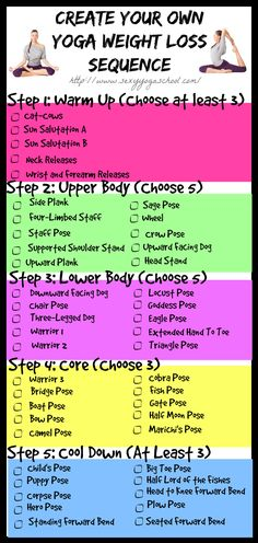 Choose from the list to amp up your home practice. Visit the site for detailed instructions on how to do these yoga poses. Click here: www.SexyYogaSchool.com
