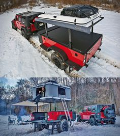 xventure off road trailer large 650x737 Xventure Off Road Trailer. This is the coolest thing ever