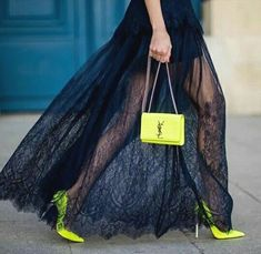 Image in Fashion collection by Fashion and beauty Platform High Heels, High Heel Boots, Balenciaga, Yellow High Heels, Saint Laurent, Lingerie Heels, Popular Dresses, Coat Dress, Supermodels