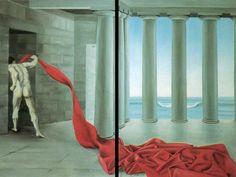 Forze in movimento collezione privata olio su tela 120 x 160