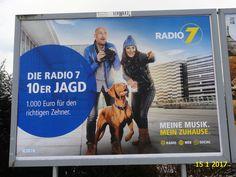1052. - Plakat in Stockach. / 15.01.2017./