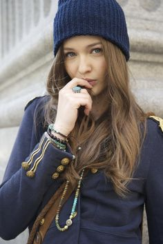 Kristina Romanova :  in the OFFICIAL VIDEO - WAKE ME UP - Avicii