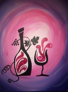 Paint Nite Nashua   Bertucci's - North Andover, 5/28/14