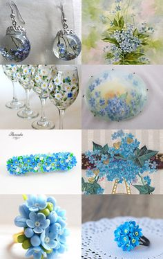 Vergissmeinnicht by Natali Ewert on Etsy--Pinned with TreasuryPin.com
