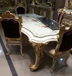 Formal Dinning Room, Classic Dining Room, Luxury Dining Room, Dinning Table Design, Round Dining Table, Custom Furniture, Luxury Furniture, Dining Room Furniture, Furniture Decor