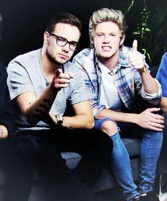 Liam Payne and Niall Horan :)