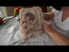 Fabric/Lace Books - Challenge Winners!!! - YouTube