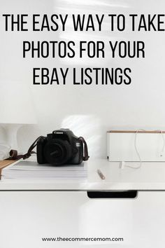 the easy way to take photos for ebay listings (2) Ebay Selling Tips, Selling Online, Ebay Tips, Take Better Photos, How To Take Photos, Making Money On Ebay, Ebay Office, Sell Your Stuff, Things To Sell